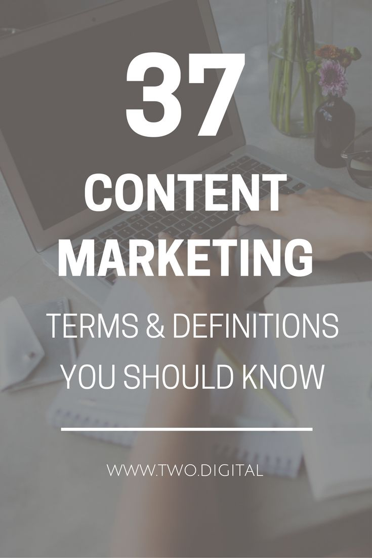Confused about the jargon used in the world of content marketing? Take a look at Two Digital's guide to 37 of the most commonly used content marketing definitions and terminology: http://www.two.digital/blog/content-marketing-glossary-of-terms