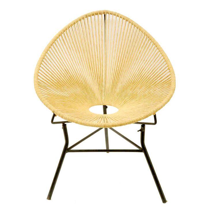 Super vette chill stoel van gevlochten touw deze stoel for Chill stoel