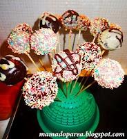 Συνταγή Cake Pops βήμα βήμα! ~ Modernmoms.gr