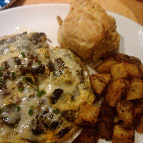 Mushroom Frittata at Northstar Cafe. The Short North location is my favorite.
