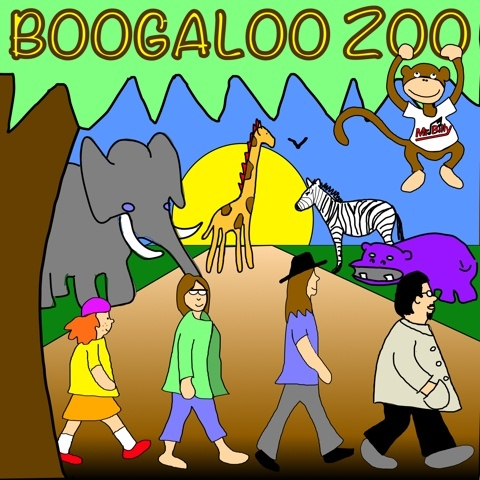 Boogaloo Zoo album cover by Mr. Billy CD to be released soon