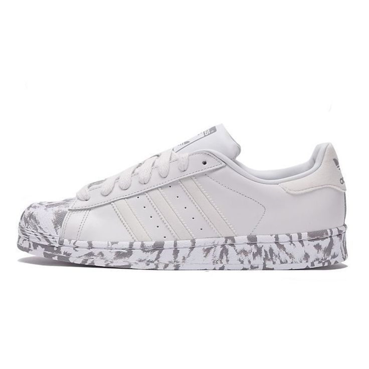 Adidas Superstar\u201cMarble\u201d AQ4658 Originals Casual shoes Unisex trainers White  | Adidas Superstar | Pinterest | Adidas superstar, Casual shoes and Trainers