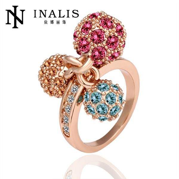R014 Cheap Price Vintage Jewelry 18K Gold Ring Fine Jewelry Wedding Rings For Women aneis bague femme bijoux Free Shipping(China (Mainland))