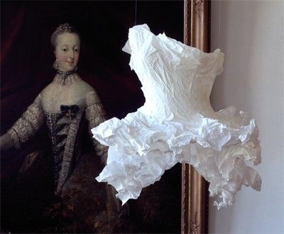 Création Violise Lunn - tutu en papier