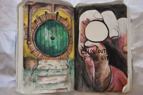 wreck this journal hobbit - Google Search