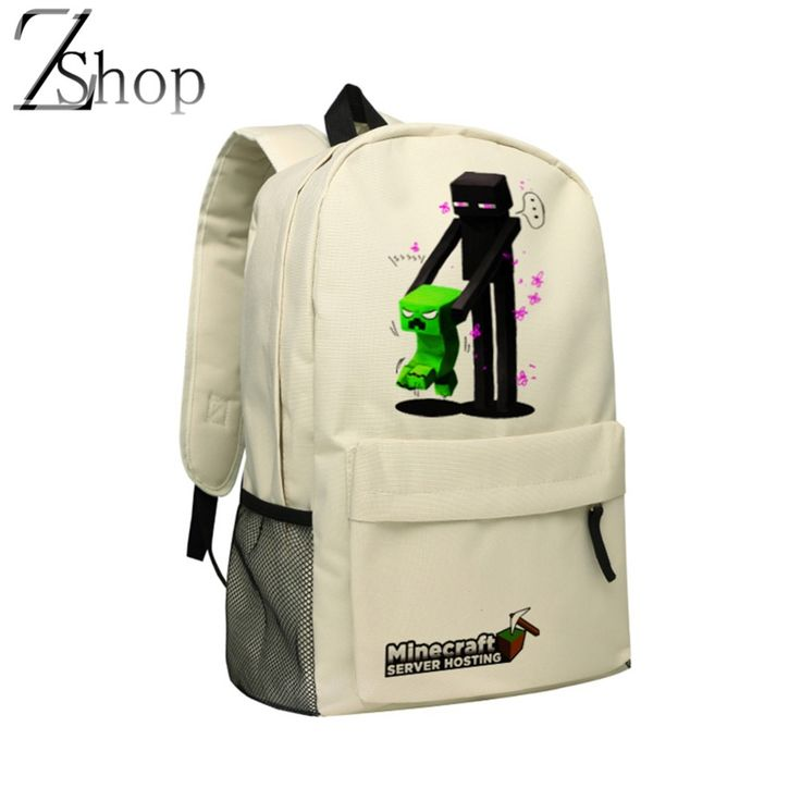 Computer Game Minecraft Backpack Game Role Enderman Also Can Be School Bags For Teenagers♦️ SMS - F A S H I O N 💢👉🏿 http://www.sms.hr/products/computer-game-minecraft-backpack-game-role-enderman-also-can-be-school-bags-for-teenagers/ US $29.95