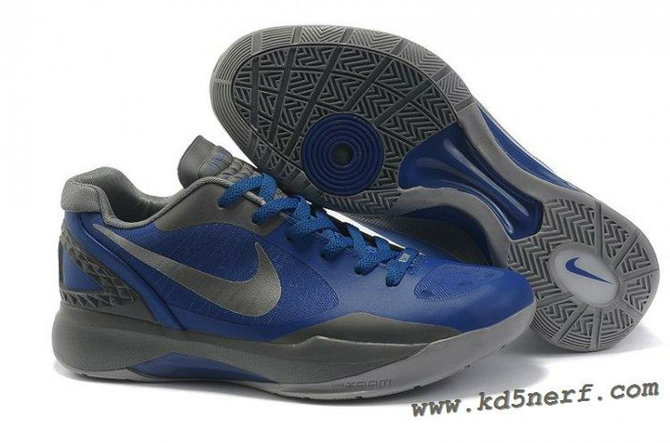 2011 Nike Zoom Hyperdunk Low Shoes Blue Silver Discount