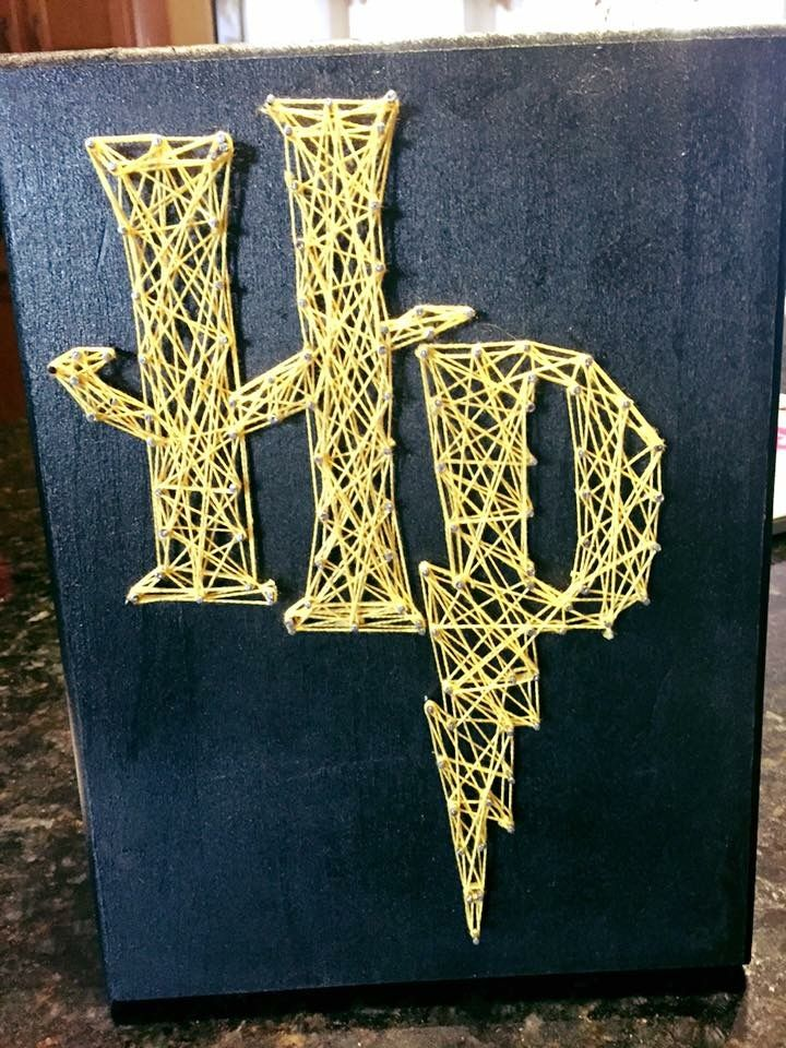Harry Potter string art canvas