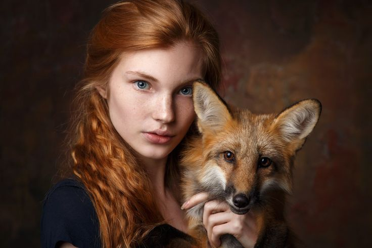 Fox & red #girl #makeup #Fox #Russian #beauty #freckles #spring #summer #portrait #beautiful #red #hair #natural #beauty #without #makeup #stunning #view #magic