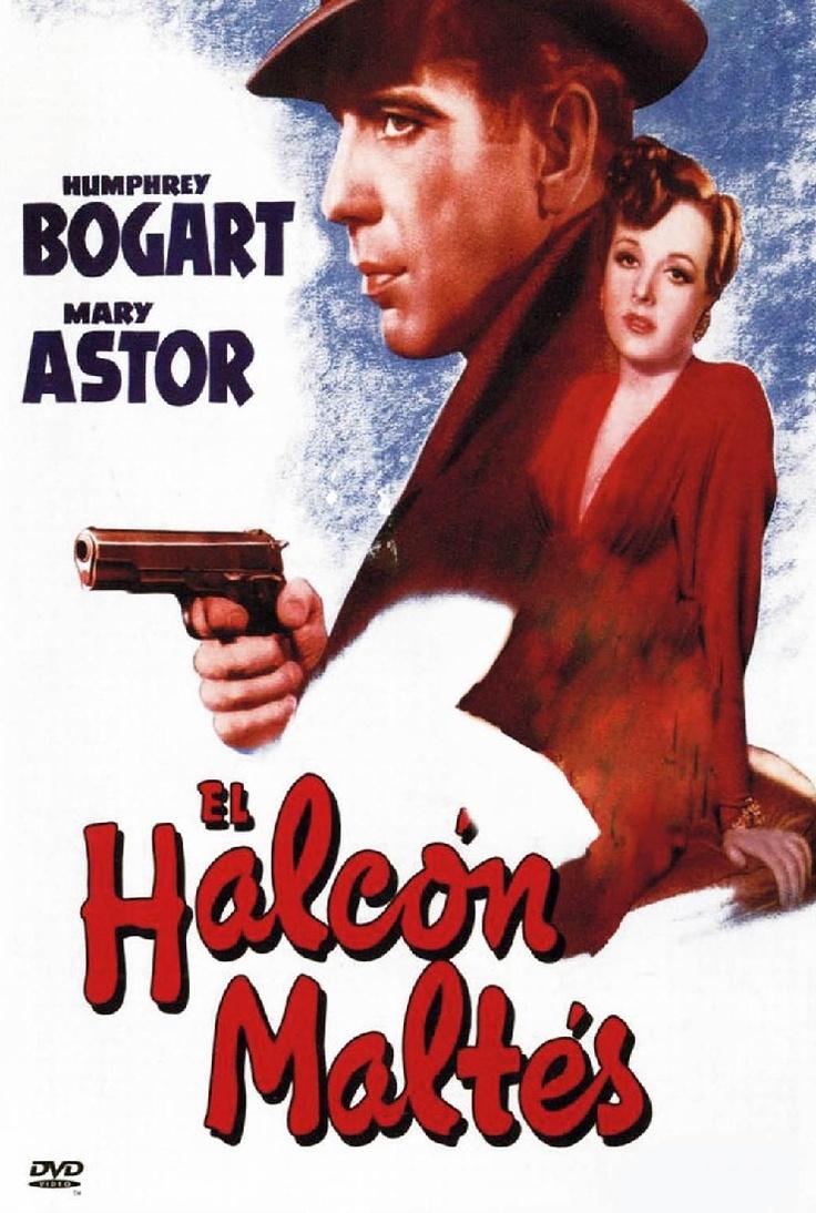El halcón maltés/ The maltese halcon (1941) EEUU. Dir: John Huston. Cine negro. Suspense - DVD CINE 190
