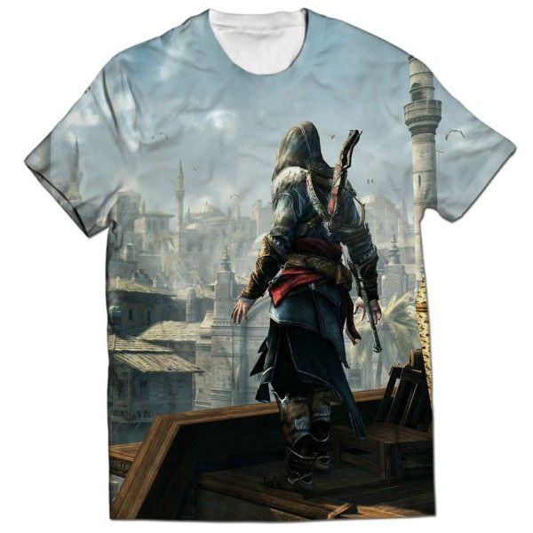 ASSASSINS CREED REVELATIONS ALL OVER PRINTED T-SHIRT Visit: http://www.thewarehouse.pk/assassins-creed-revelations-all-over-printed-t-shirt-14512