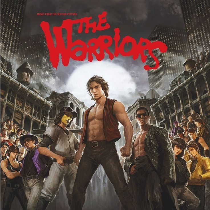 The Warriors 1979 Original Soundtrack And Score - Various Artists on Limited Edition 180g 2LP