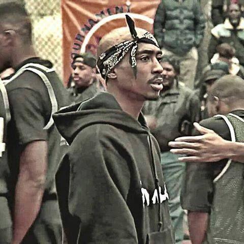 Tupac Shakur in Above the Rim