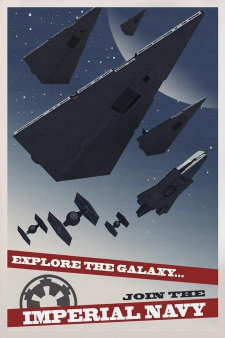 Star Wars Rebels Imperial Propaganda Poster 6