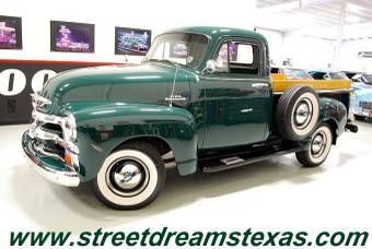 1954 Chevrolet 3100 Short Bed Pickup