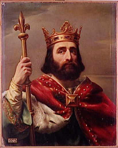 Charles Martel, aka The Hammer, King of the Franks; saved Western Christian civilization from Islamic conquest by defeating the Muslim invaders at the Battle of Tours in 732 AD.