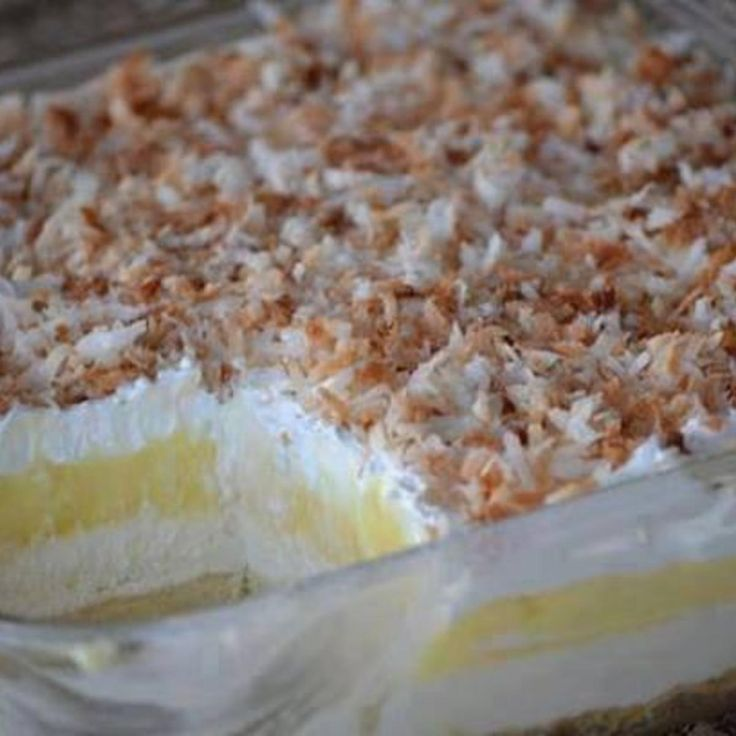 Looks easy! No bake except for the crust and toasting the coconut :)