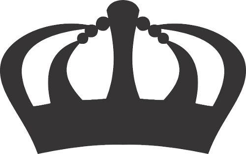 Coroa Princesas Em Mdf Cru Para Decoração | Moldes | Pinterest | Ems ...