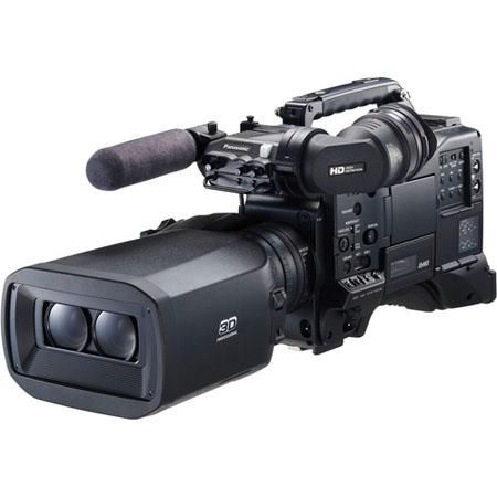 Image of Panasonic 3D integrated P2 HD Camcorder
