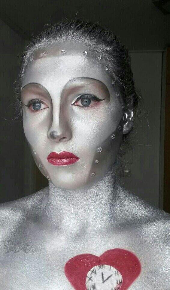 Tinman makeup by naomiroepersmakeupartist