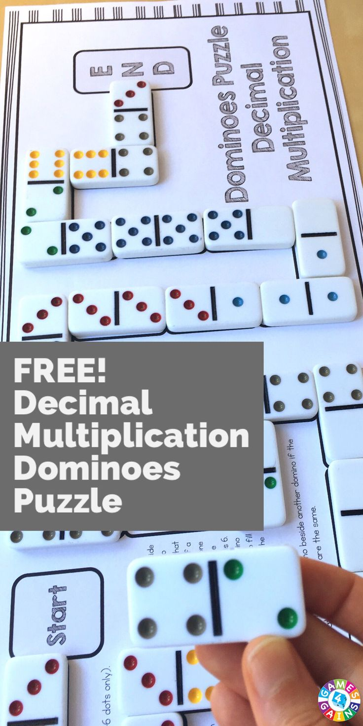 My students LOVED using this puzzle to practicing multiplying decimals!