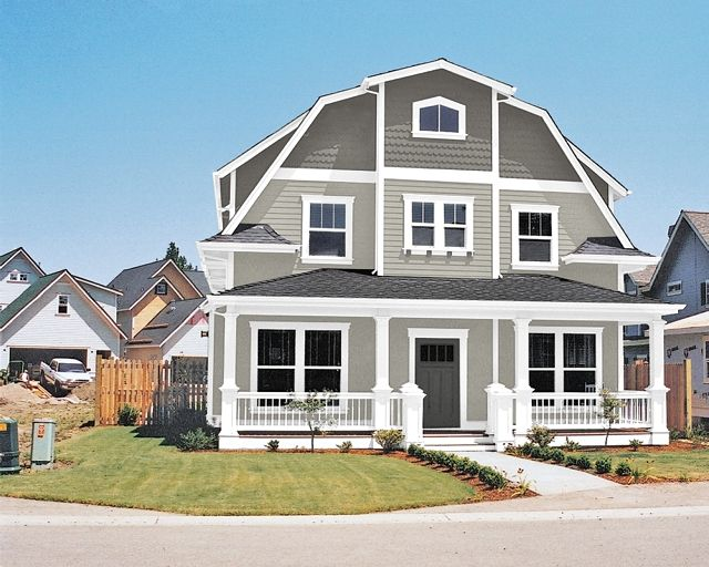Best Gray Exterior Homes Images On Pinterest Exterior Paint