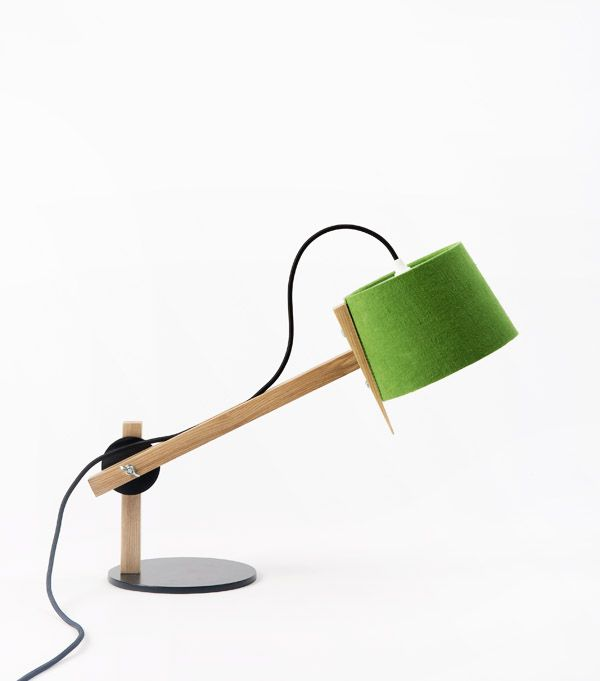 Douglas and Bec Angle Lamp via thedesignfiles.net