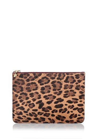 #Clutch leopard print by #AlexanderMcQueen. http://bit.ly/1LK9Nj6