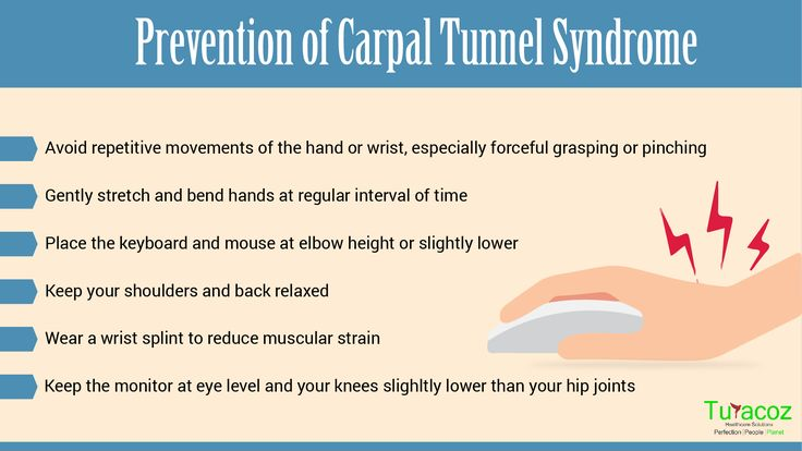 #Turacoz Healthcare Solutions shares the important measures that can be taken for prevention of #carpal tunnel syndrome.