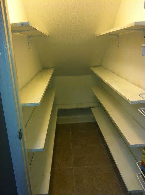Pantry Makeover: Under the Stairs This past December was super busy for my family and I because we moved into our new house just days be...