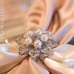 Gorgeous napkin Rings