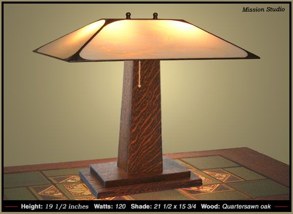 Craftsman Table Lamp | Craftsman Style Lamps