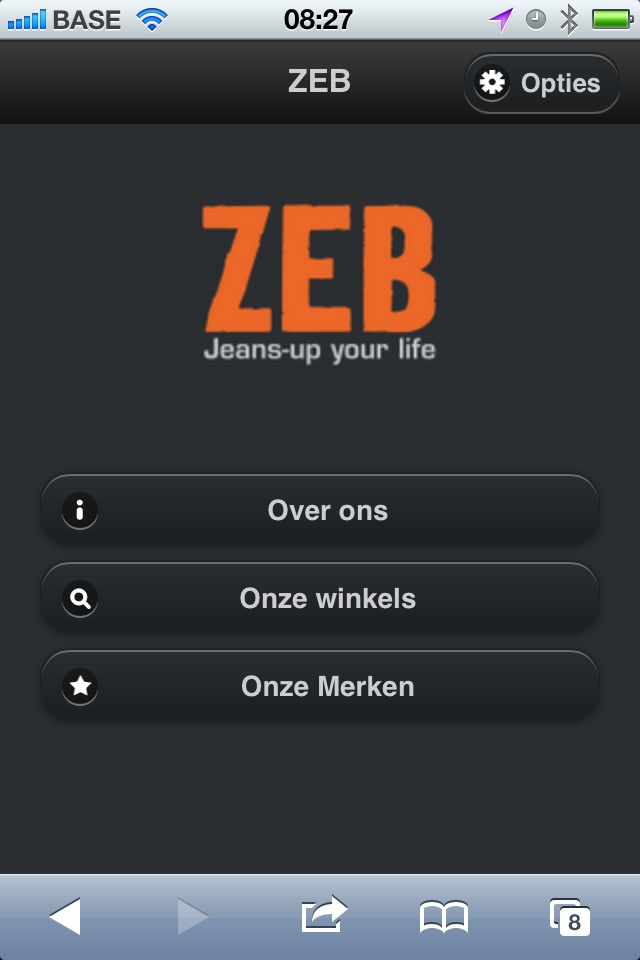The Mobile Site of ZEB is ready! - Mobilosoft