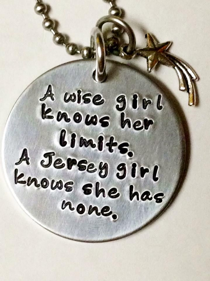 <3 this Jersey Girl Charm!