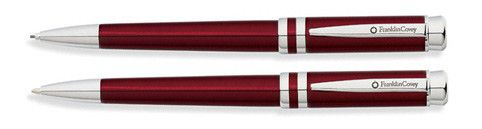 Franklin Covey Freemont Vineyard Red Pen & Pencil Set