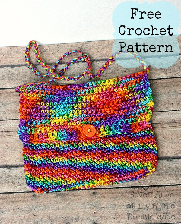 52 Best Bags Images On Pinterest Crochet Tote Crocheted Bags And