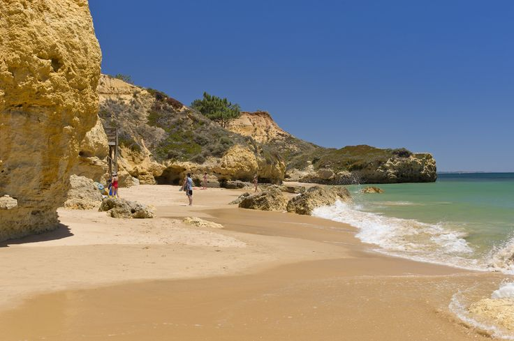 The Beach at the Alfagar Resort, Santa Eulalia, Algarve, Portugal