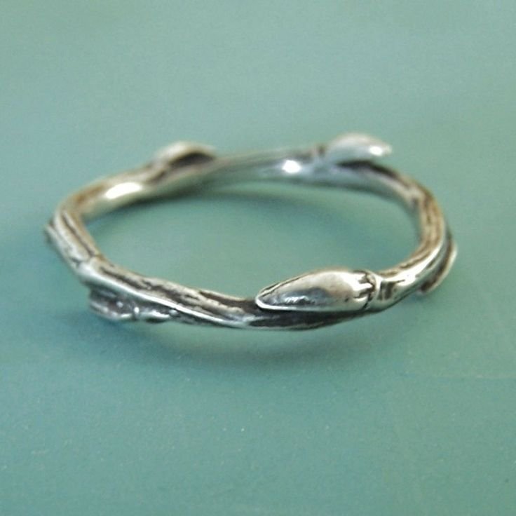 Sterling Silver Twig Ring - Willow   Elizabeth Scott Jewelry {take 10% off with code 10offsilver through Oct. 31}