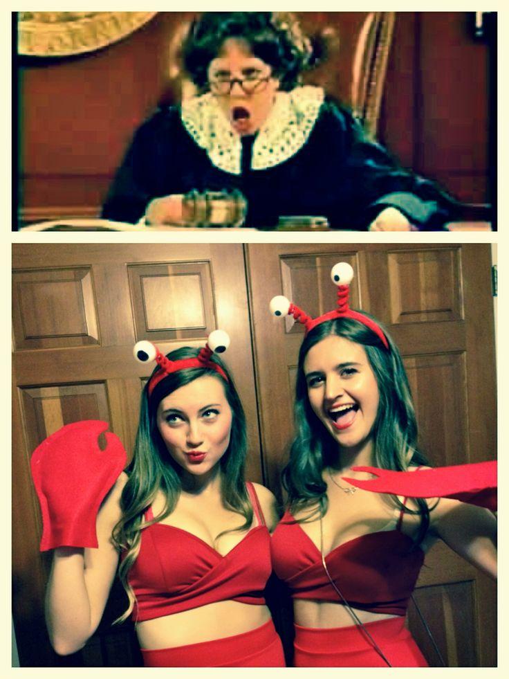 Dancing Lobster DIY Halloween Costume from the Amanda Show