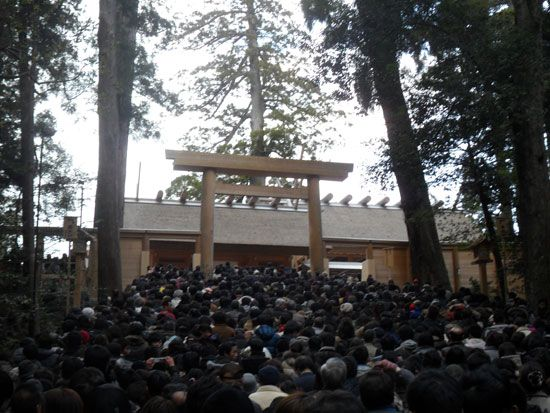 Ise Grand Shrine, Mie, Japan http://www.cheapojapan.com/ise-grand-shrine-day-2/ #japan #shrine #temple #travel #beautiful #pretty #ise #jingu