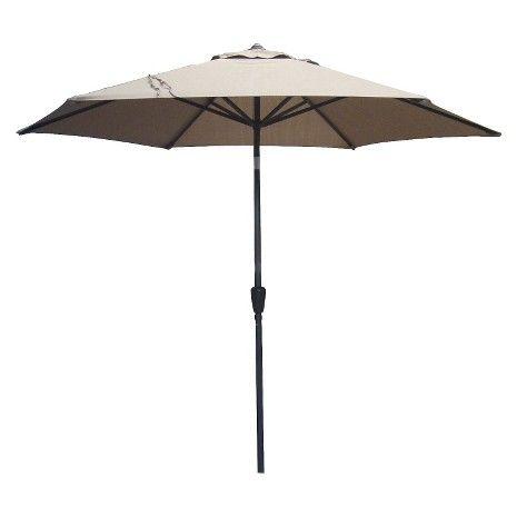 Target   Threshold™ Aluminum Push Tilt Patio Umbrella   9u0027