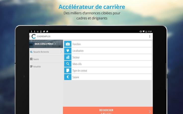 Cadremploi: offre emploi cadre– Capture d'écran