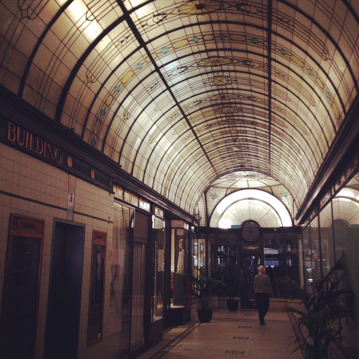 Nicholas Building. Ground Floor. Domed Roof, Stained Glass.