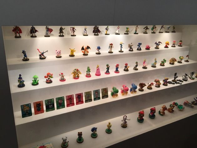 25 Best Images About Amiibo Display Ideas On Pinterest