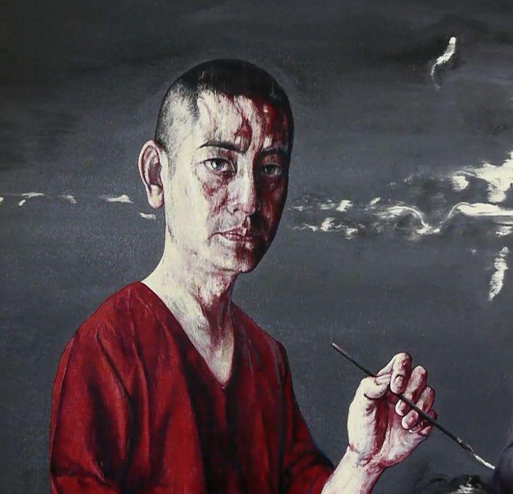 #ARTIST Zeng Fanzhi - Self Portrait