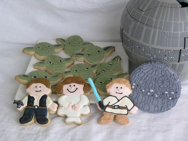 Star Wars: Cookies Ideas, Stars War Cookies, Coast Cookies, Cookies Sci Fi Fantasy, Cookies Decor, Star Wars Cookies, Cookies 2009, Cookies Cookierecip, Cookies Cookiesrecip