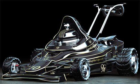 F1 Concept lawn mower