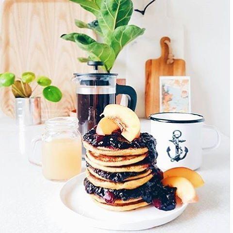 Sweet potato! Pancakes - the brunch of champions 👌🏻✌🏻️ Enjoy your sunday folks! ⚓️ Regram from @lillfroken #lionsandcranes #lionsocranes #brunch #pancakes #pannkakor #sweetpotato #sötpotatis #design #sunday #söndag #svenskdesign #swedishdesign...
