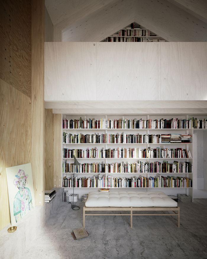 22 besten bib Bilder auf Pinterest Bibliothek, für zu Hause und - hausbibliothek regalwand im wohnzimmer
