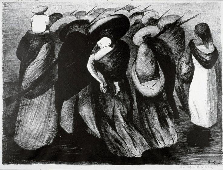 'Rear Guard', 1928 - José Clemente Orozco